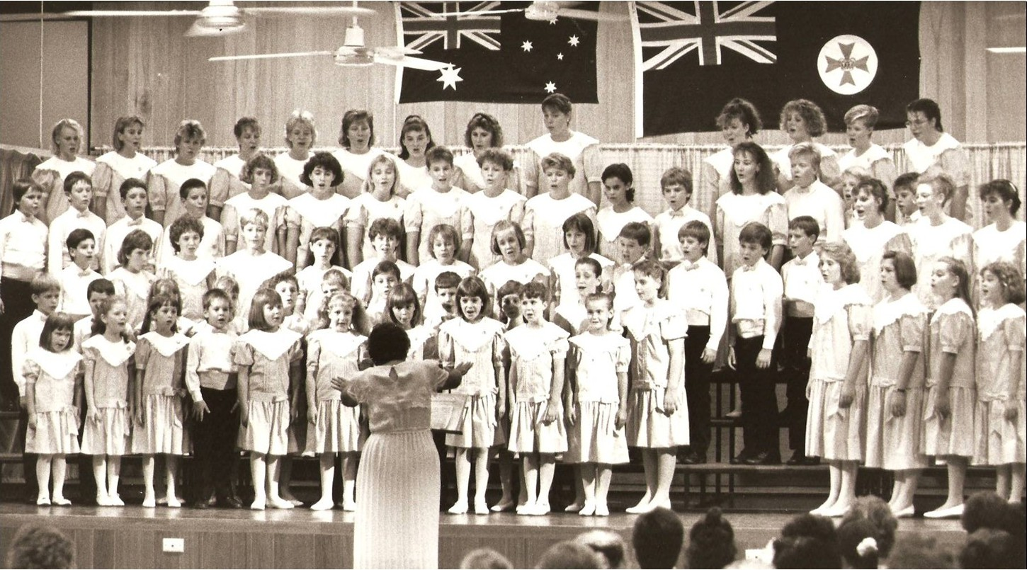 Junior Choir 1988
